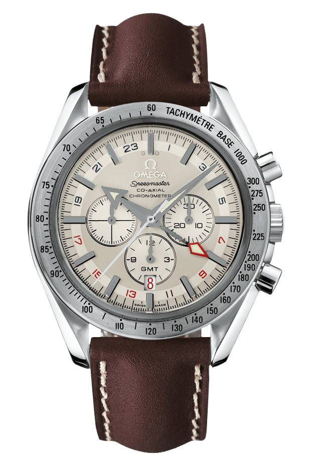 Omega Broad Arrow GMT Chronograph